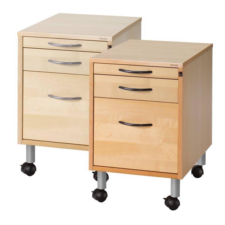 Mobile storage unit: 3 drawers | AJ Products Ireland