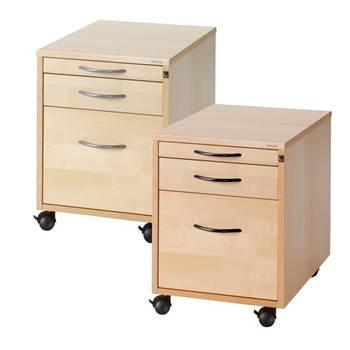 Mobile pedestal: 3 drawers