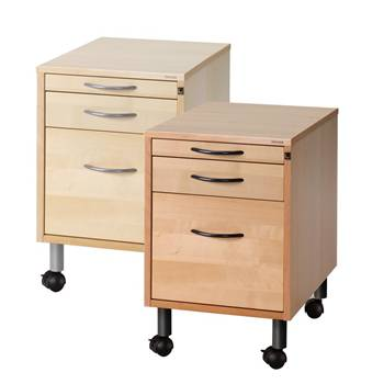 Mobile pedestal: 3 drawers
