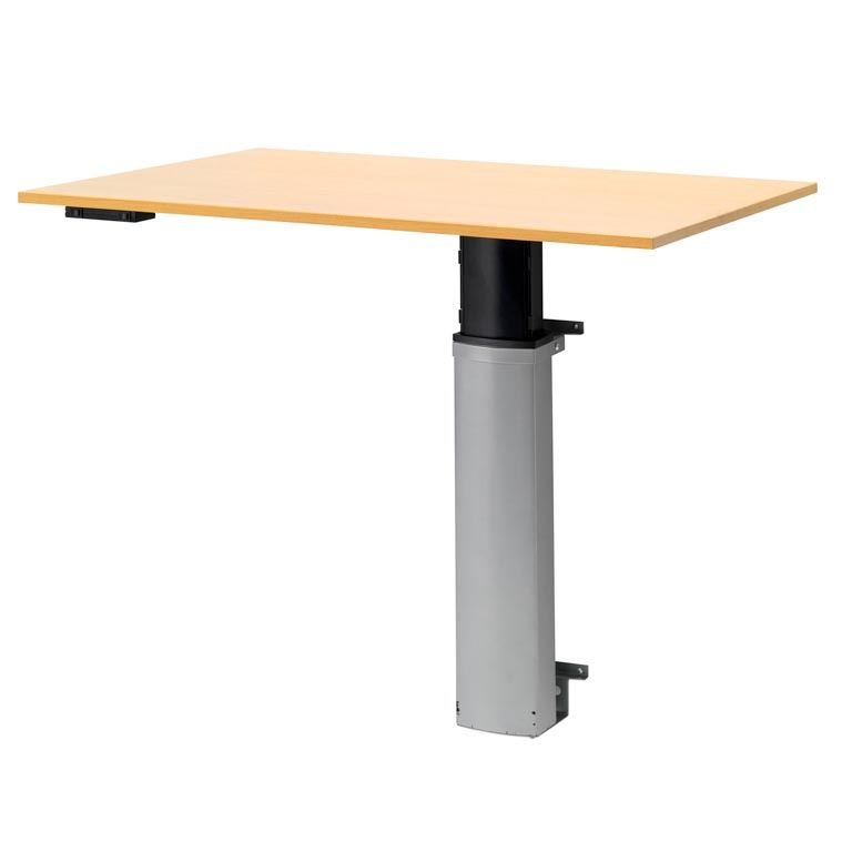 Height Adjustable Computer Desk Wall Mounted Aj