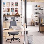 """""""Adeptus"""" Adjustable desk, straight"""