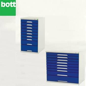 Storage unit: 9 drawers
