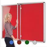 Resist-a-flame® tamperproof notice board