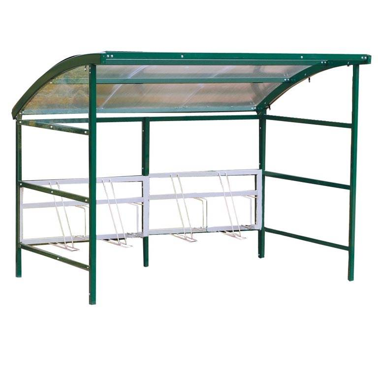 Premier cycle shelter with perspex sides: add-on unit
