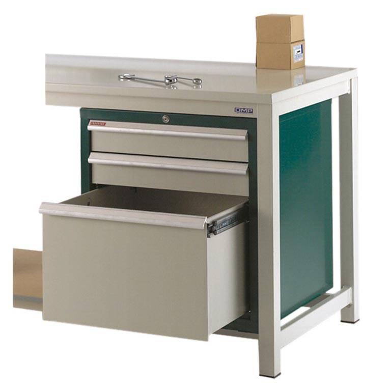 Drawer unit for storage workbench: 3 dwrs