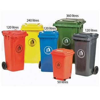 Universal wheelie bins