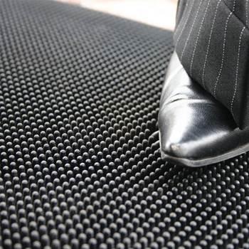 """Fingertip"" entrance mat"