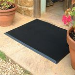 """Fingertip"" entrance mat"