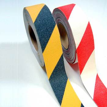 """Grip-foot"" hazard warning tape"