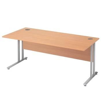 """Flexus budget"" straight desks"