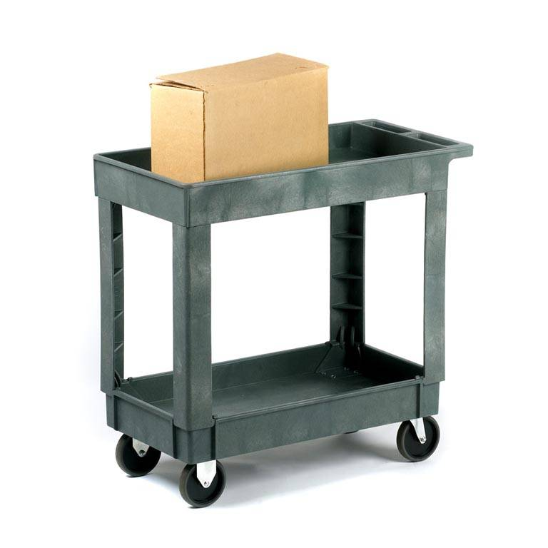 Deep shelf trolleys: 225kg