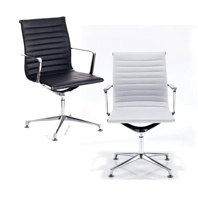 """""""Blade"""" conference chair: leatherette"""