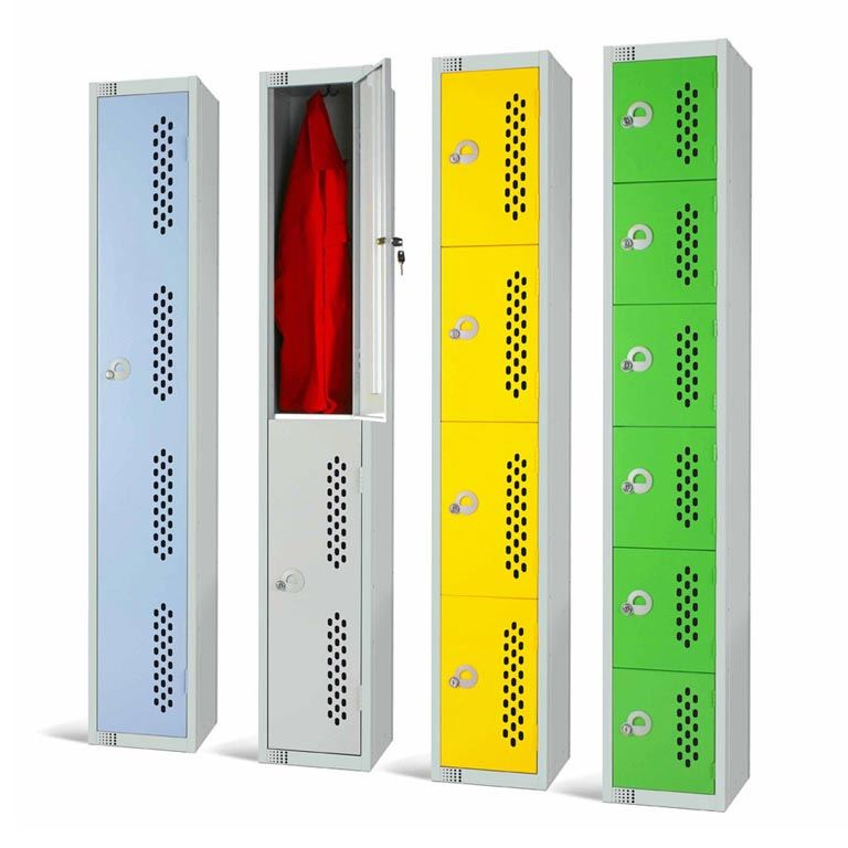 """Elite"" perforated door lockers"