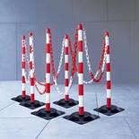 Plastic post chain set: 6 pcs