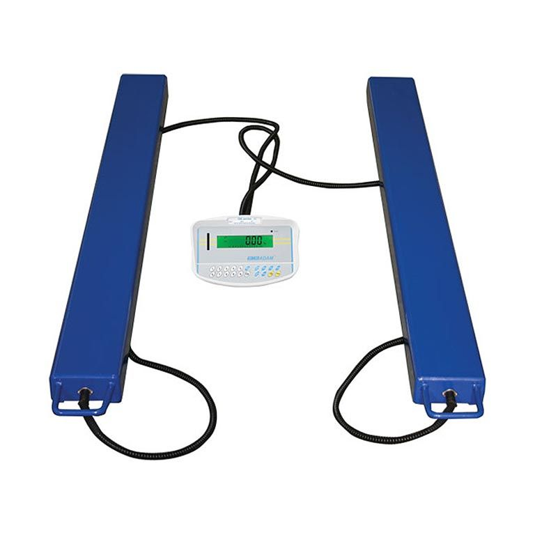 Pallet beam scales