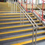 GRiP stair nosing: yellow