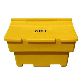 Stacking grit bins