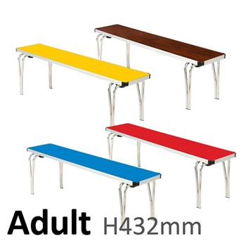 Adult Bench: H432xL1220