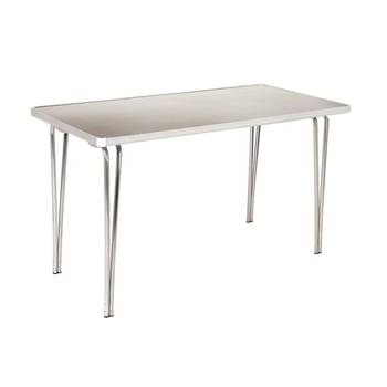 Aluminium folding table