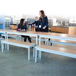 Enviro dining bench: L1600mm