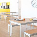 Enviro dining bench: L1200mm
