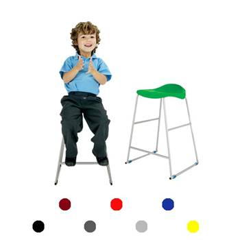"""Ultimate"" plastic stool: H 445 mm"