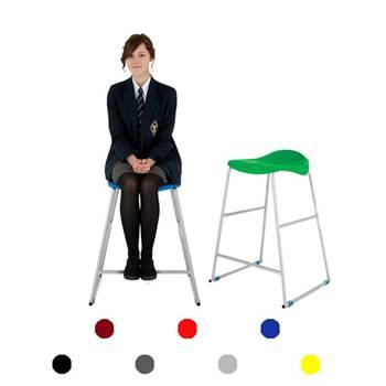 """Ultimate"" plastic stool: H 610 mm"