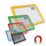 Magnetic document frames