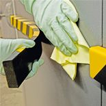 Foam surface protection