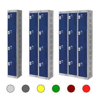 Lockers: 4 doors