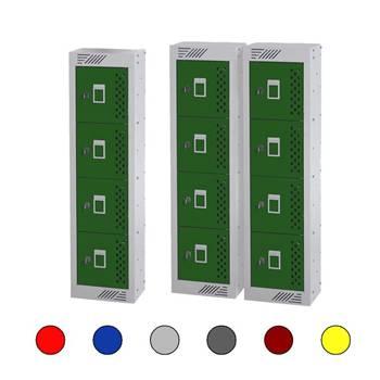 In Charge™ lockers: 4 doors