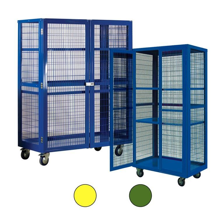 Mobile Storage Cages Aj Products Ireland