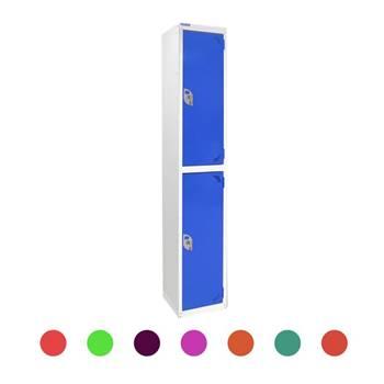 Locker: 2 compartments