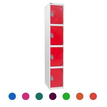 Locker: 4 compartments