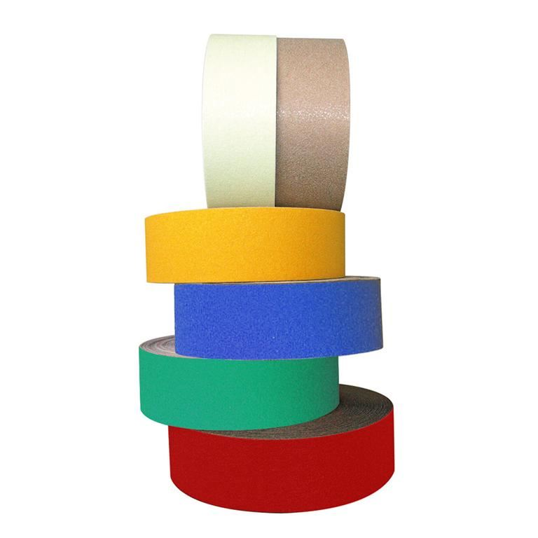 """Grip-foot"" coloured anti-slip tape"