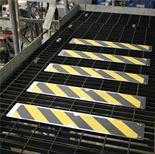 Anti-slip aluminium stair tread