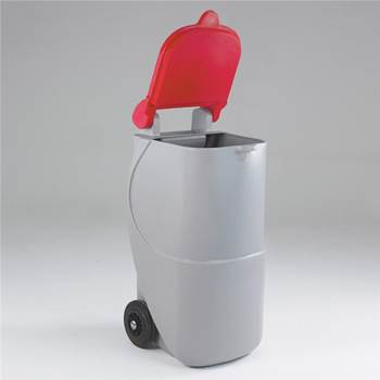 Mobile recycling bins: 90L