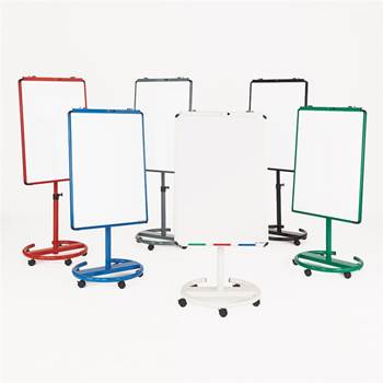 Ultimate mobile flip chart easel