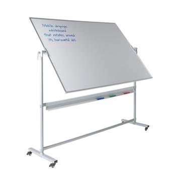 Revolving magnetic whiteboards