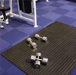 Weight room matting