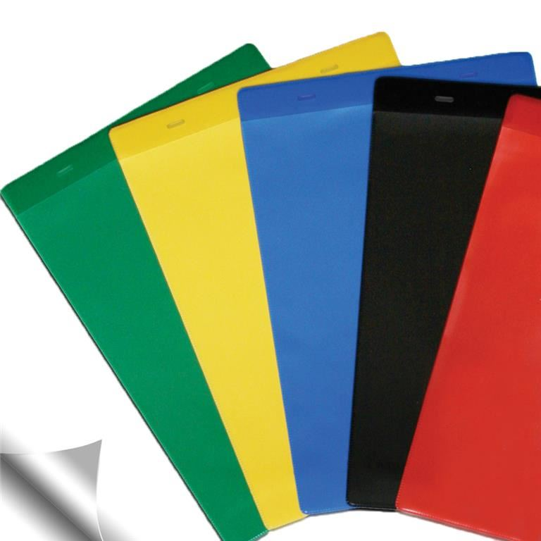 Self-Adhesive Coloured Document Pockets