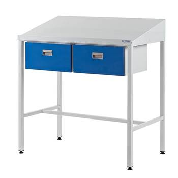 Team Leader Workstation with 2 x Drawers