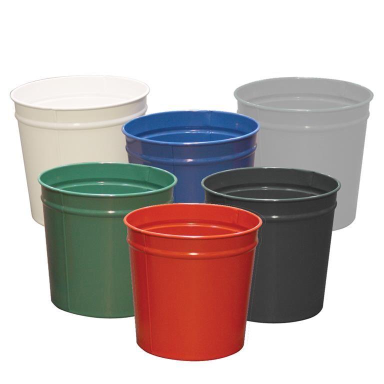 Round waste paper bin: 12L