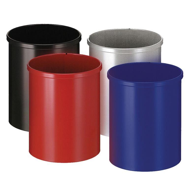 Round waste paper bin: 15L