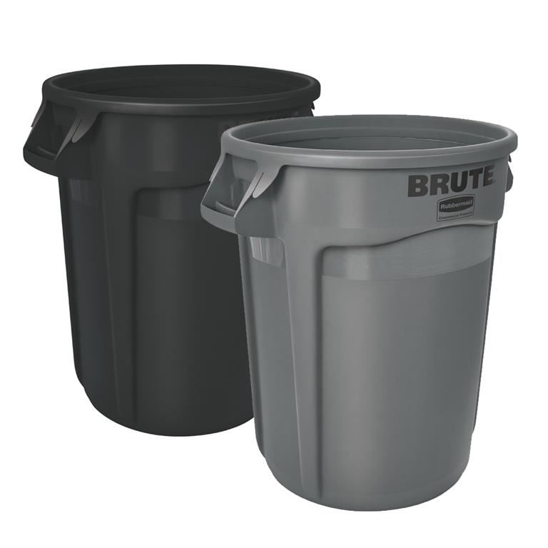 BRUTE® round container with venting