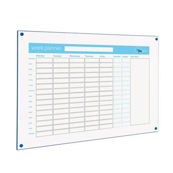 Timeminder® planning boards: week