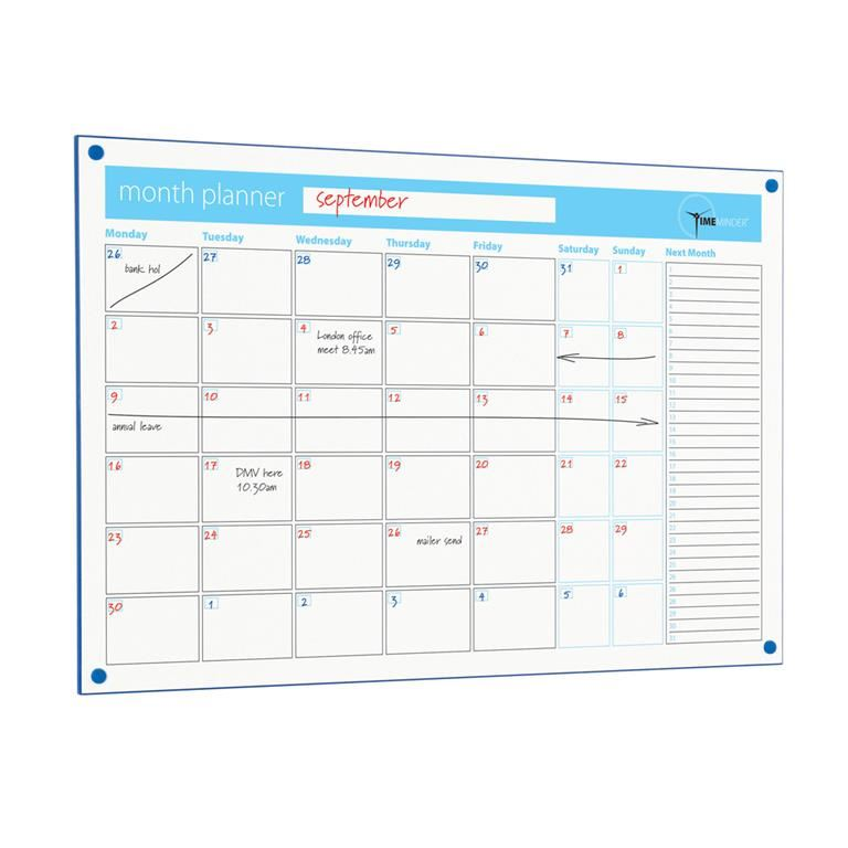 Timeminder® planning boards: month