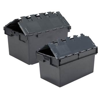 Eco attached lid container