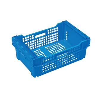 Bale arm crate
