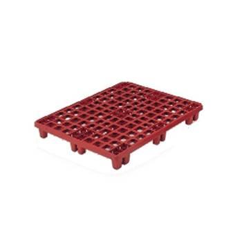Plastic pallet: open deck